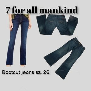 7 for all mankind Bootcut jeans sz. 26